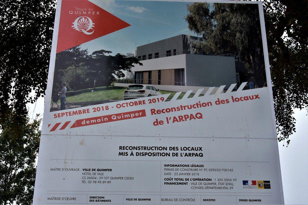 La construction des futurs locaux de l'ARPAQ vient de commencer