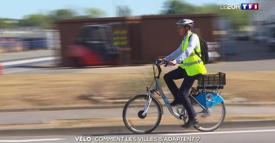 Mise au point de l'adjoint Guillaume Menguy après la diffusion d'un reportage de TF1 sur les pistes cyclables