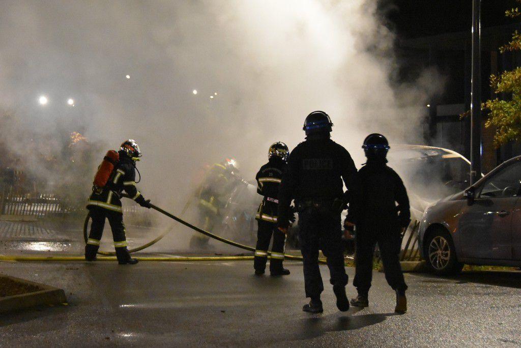 Débordements d'Halloween : trois voitures brûlées à Penhars
