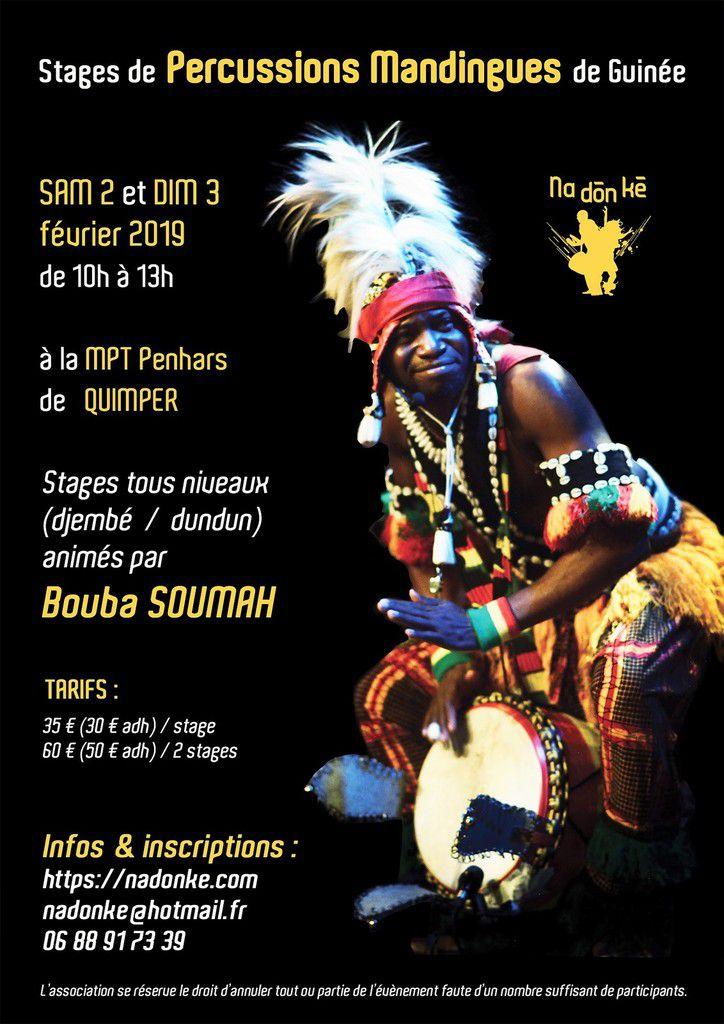 Danses et percussions de Guinée (communiqué)    Association Na Dòn Kè
