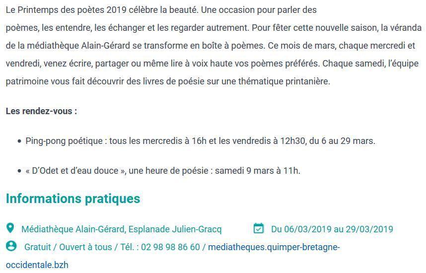 Source : Ville de Quimper
