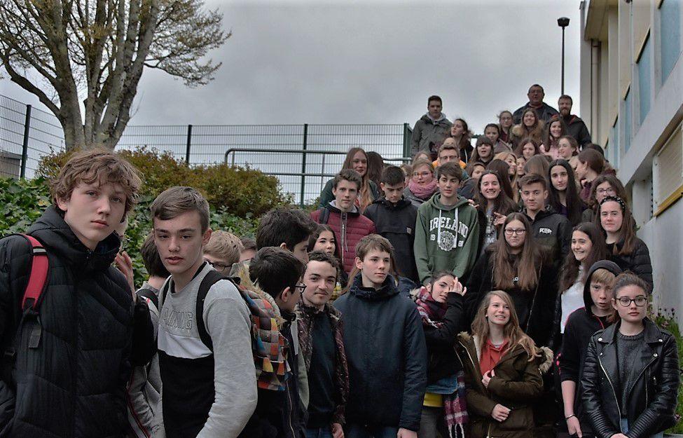 Basques et Bretons au moment des adieux.
