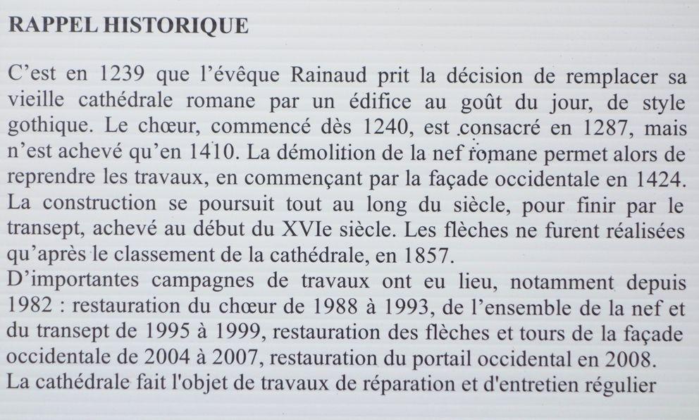 Des travaux annoncés sur la cathédrale de Quimper en 2019