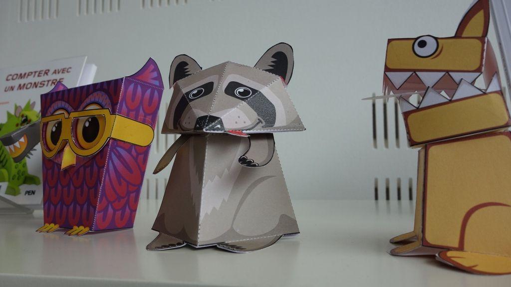 Atelier créatif – « On s'la raconte » à la médiathèque de Penhars : création de paper toys !