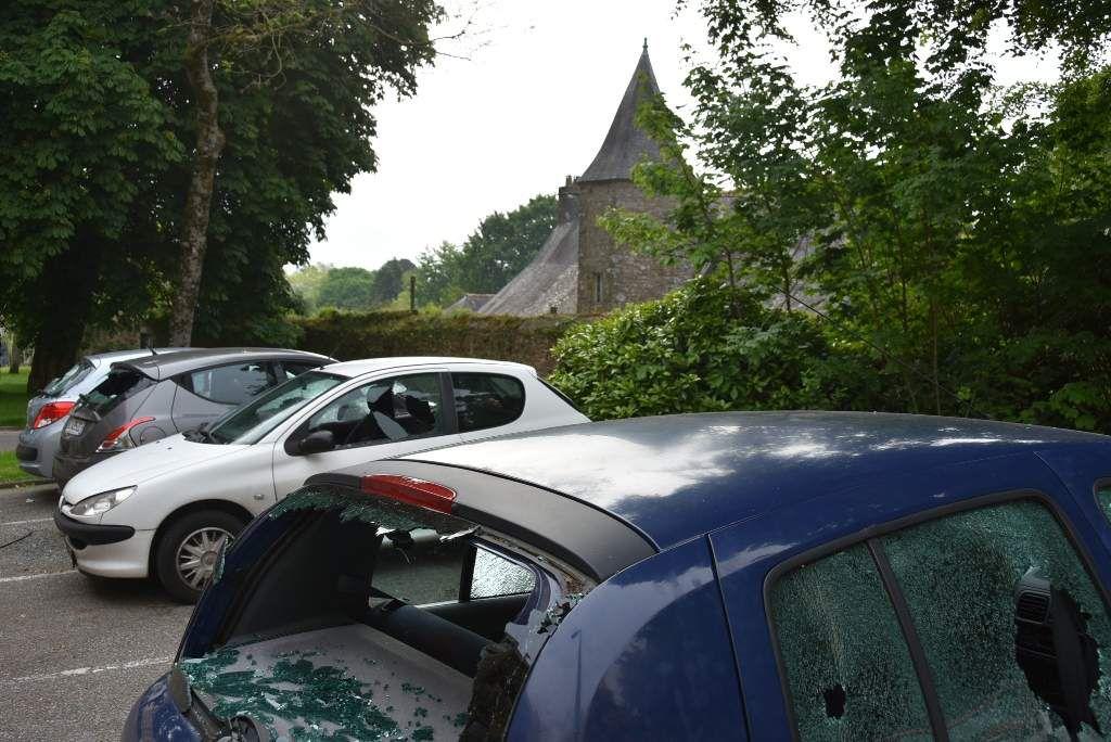 Quatre voitures dégradées cette nuit à Penhars