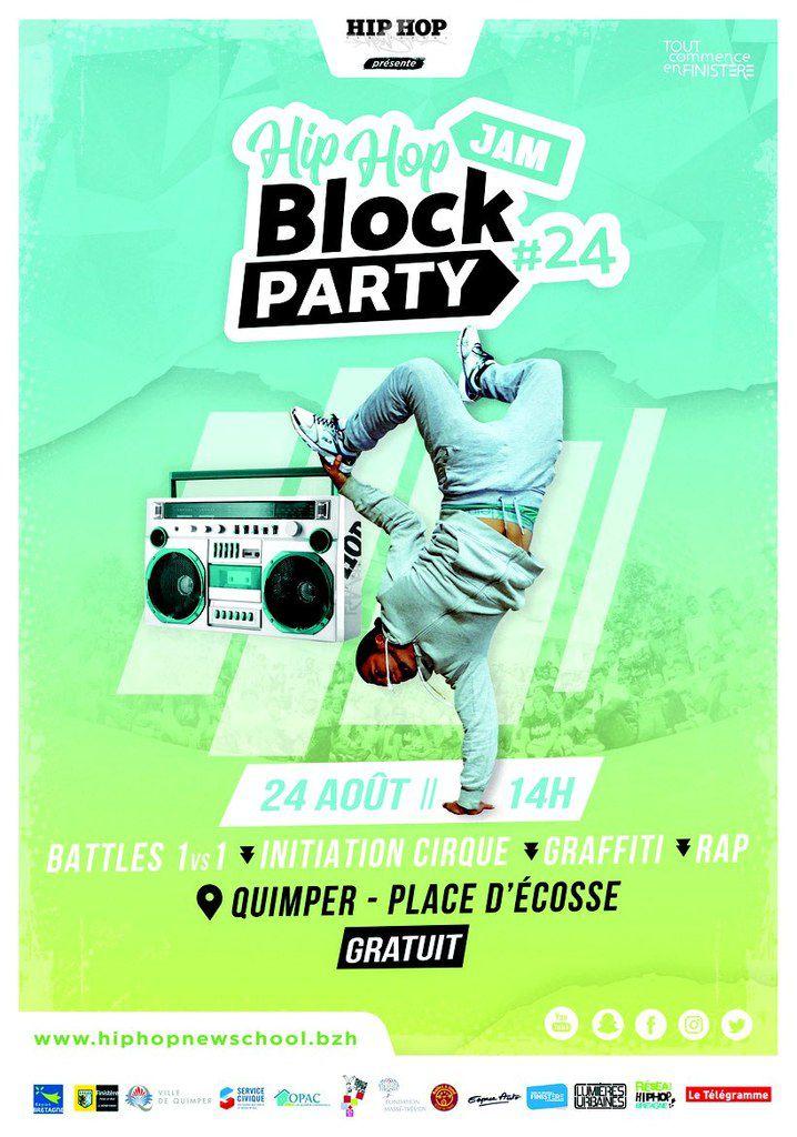 Block party et championnat Breizh B.boys le 24 août à Penhars