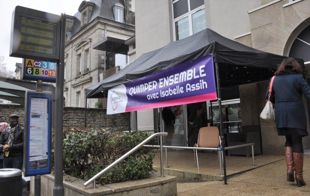 Municipales 2020 : Le collectif Quimper Ensemble inaugure son local de campagne