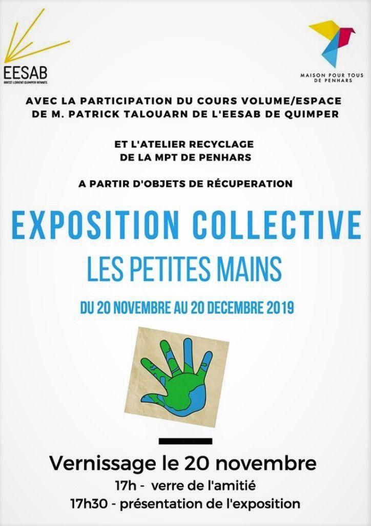 Recyclage ... expo à la MPT de Penhars ... vernissage mercredi