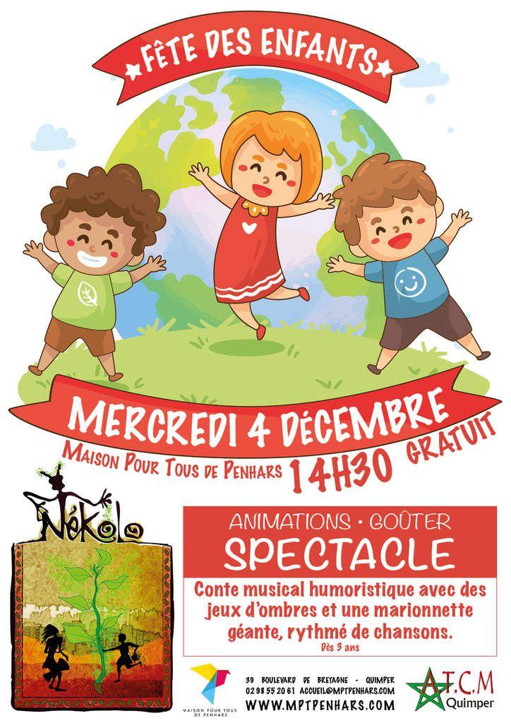 La Fête des enfants aura lieu le 4 décembre au Terrain Blanc à Penhars