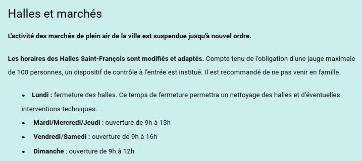 Pour plus de renseignements cliquez sur le lien du site de la mairie de Quimper