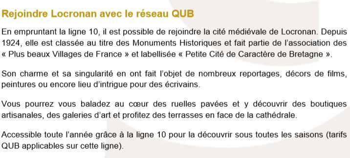 De Quimper aux plages : 3€ A/R cet été avec les réseaux QUB et BreizhGO (communiqué)