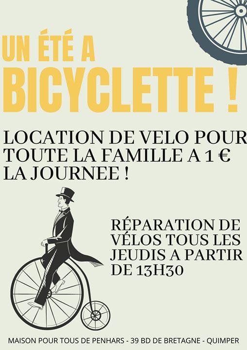 Le jeudi, je répare mon vélo à la MPT de Penhars