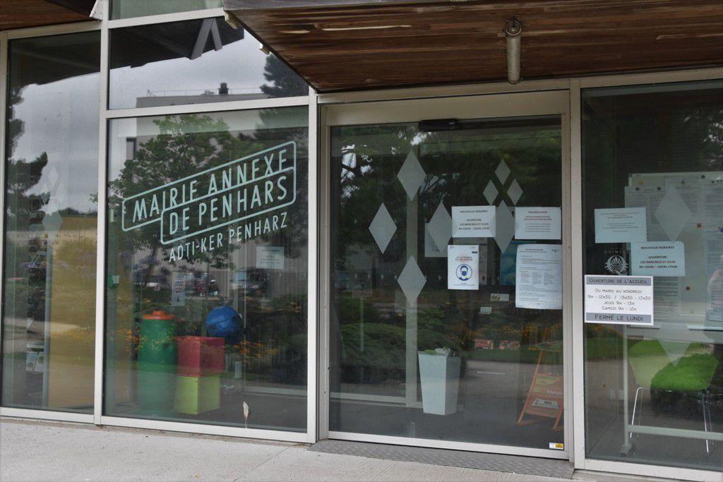 La mairie annexe de Penhars est fermée du 1er au  24 août