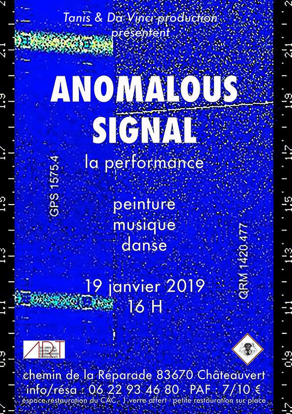 ANOMALOUS SIGNAL - La Performance