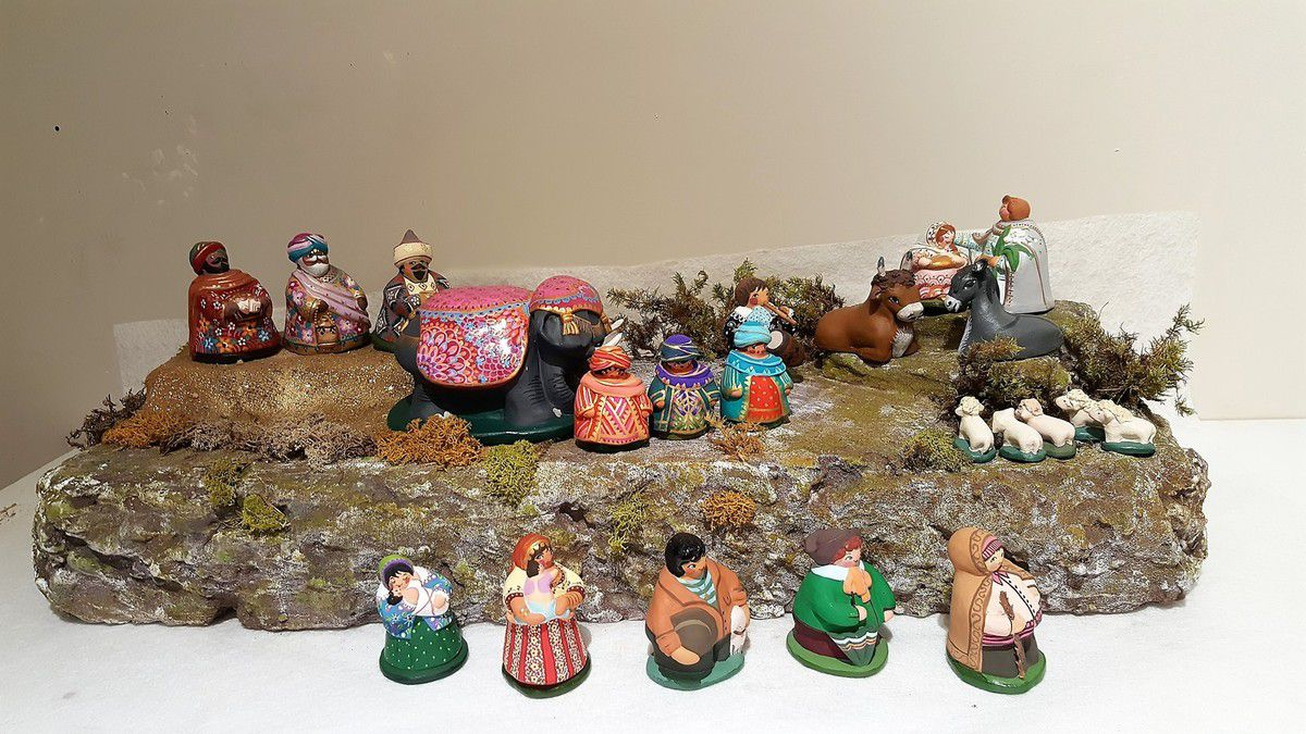 Decor De Creche Noel
