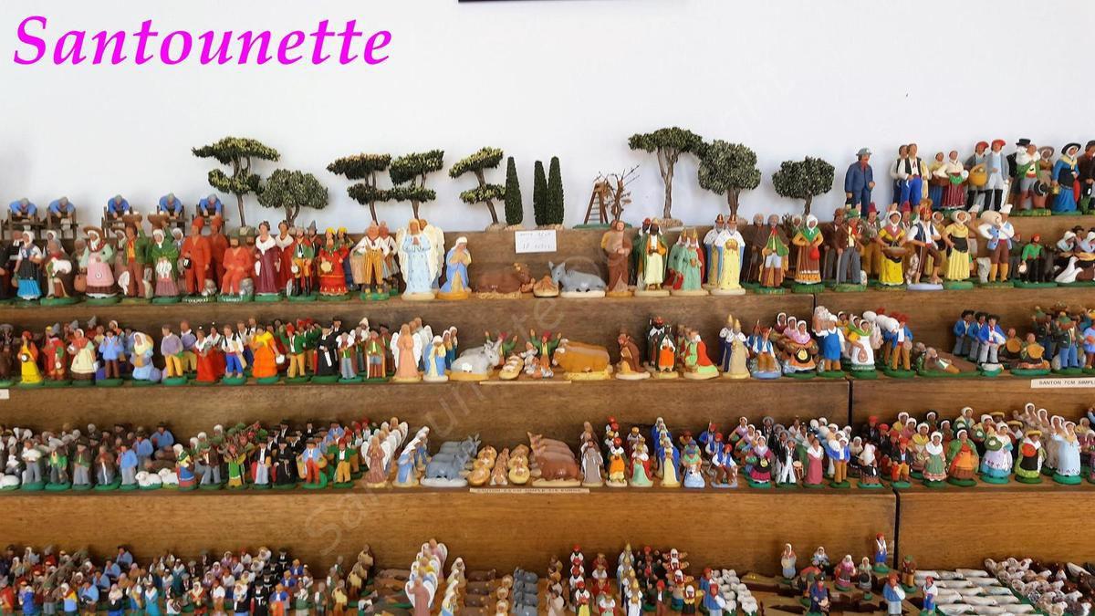 Les santons de Christian Chave (foire aux santons et à la céramique d'Aubagne 2017)