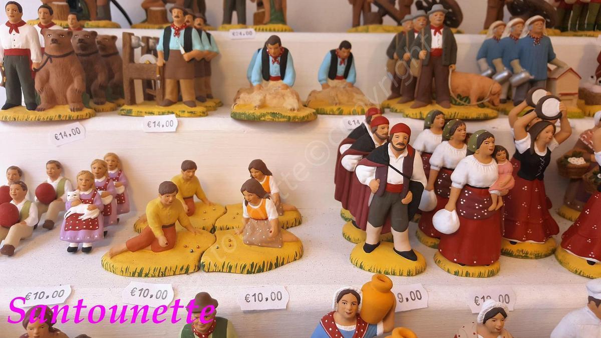Les santons Grassi (foire aux santons et à la céramique d'Aubagne 2017)