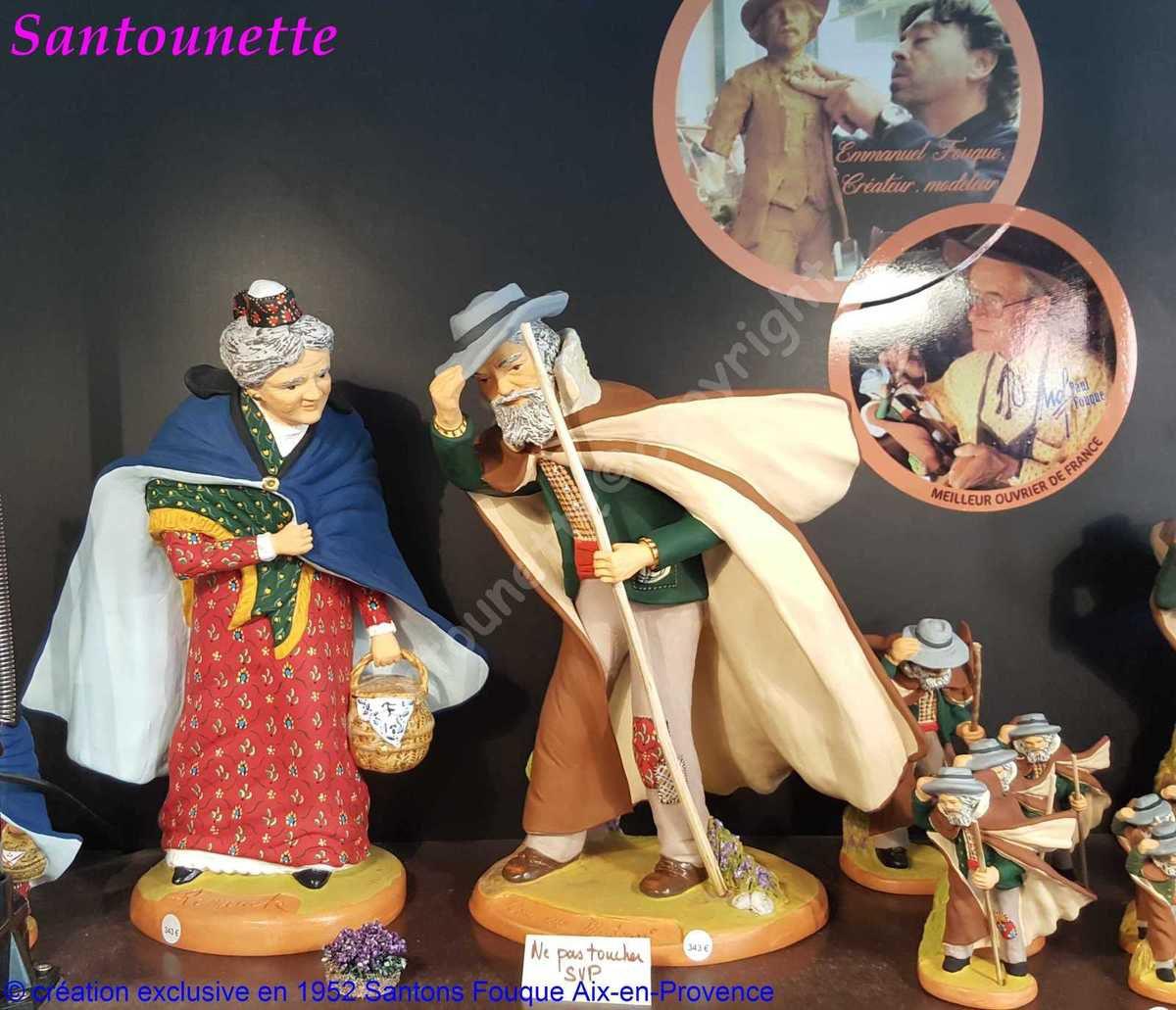 Les santons Fouque (exposition de Mouans-Sartoux 2017)