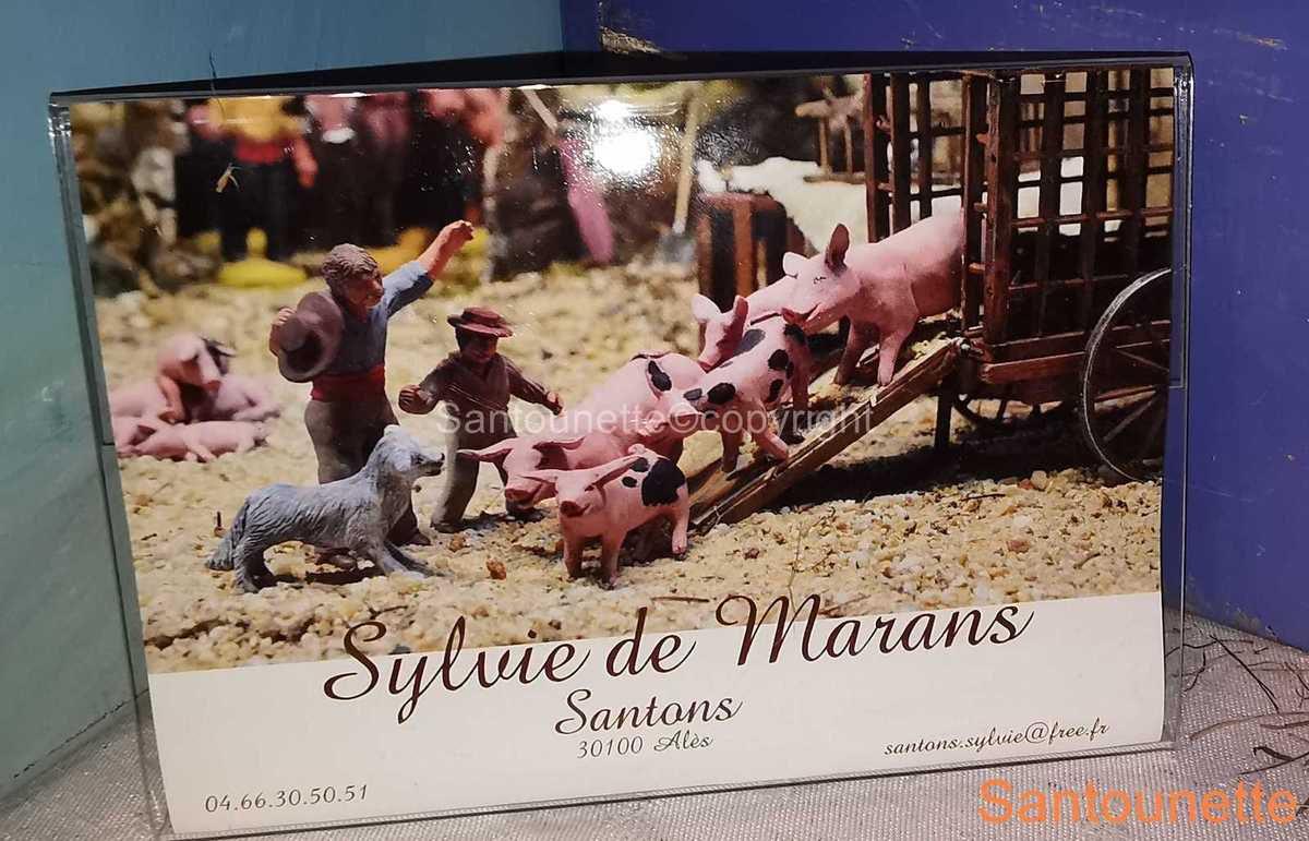 Sylvie de Marans à Gard aux Santons 2019
