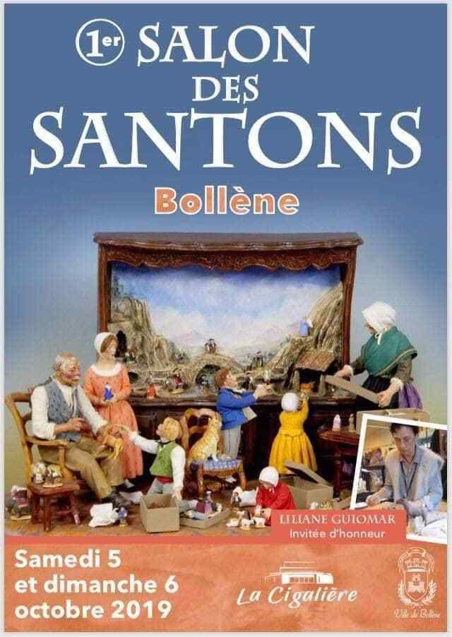 Première édition du salon des santons à Bollène des 5 et 6 octobre 2019