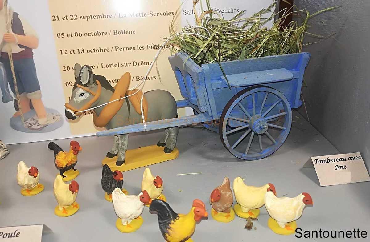Salon des Santons à Bollène 2019 - Article 1/5 - A Tidjarian - Casa - C.Clemente - Couleurs du Sud- R.Raccurt-Navoret - Le monde miniature de J-B