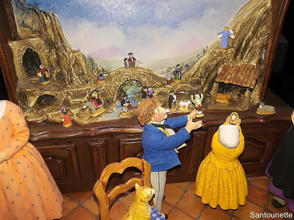 Salon des Santons à Bollène 2019 - Article 2/5  - Atelier de Fanny - Didange Modélisme - J.Flore - G.Giordano - L.Guiomar