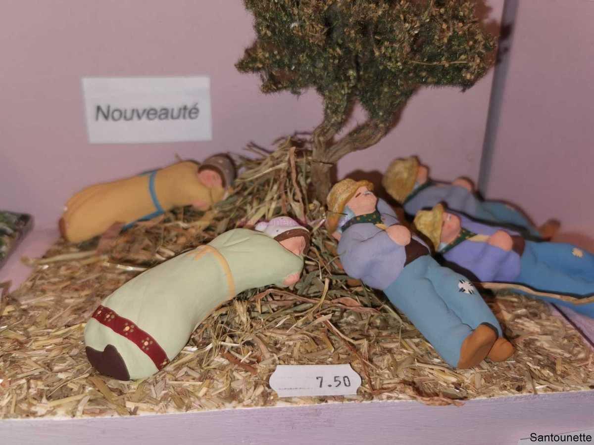 Salon des Santons à Bollène 2019 - Article 5/5 présentation des santons Gasquet - Côté santons - Crèches et passions provençales