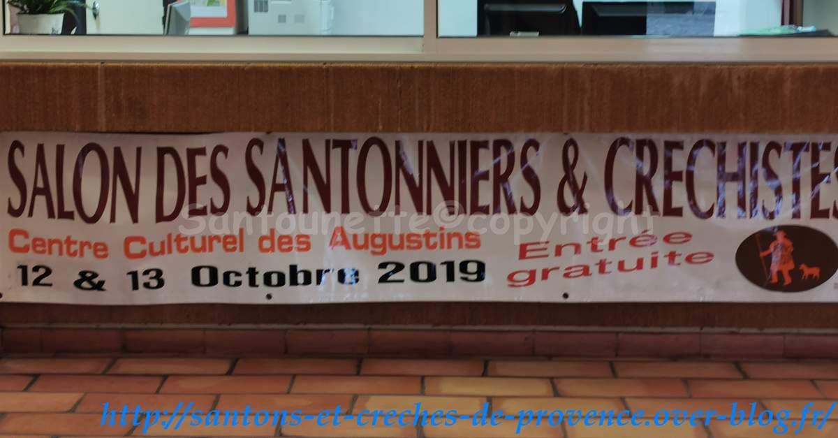 Les santons de Serge Vincent et les crèches de Marco : foire aux santons de Pernes les Fontaines des 12 et 13 octobre 2019 (1/3)
