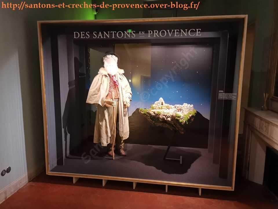 Des santons en Provence : exposition de santons au musée provençal du costume   et des bijoux - Musée Fragonard de Grasse