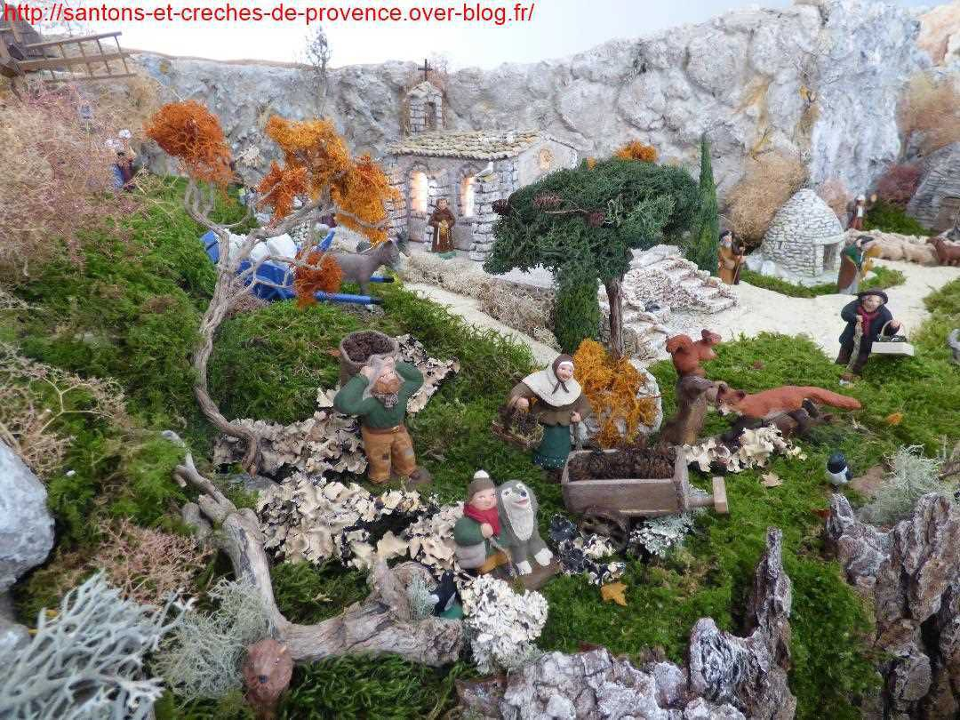 La crèche 2019 de Marie-Christine et Christian de Marignane (2/2)