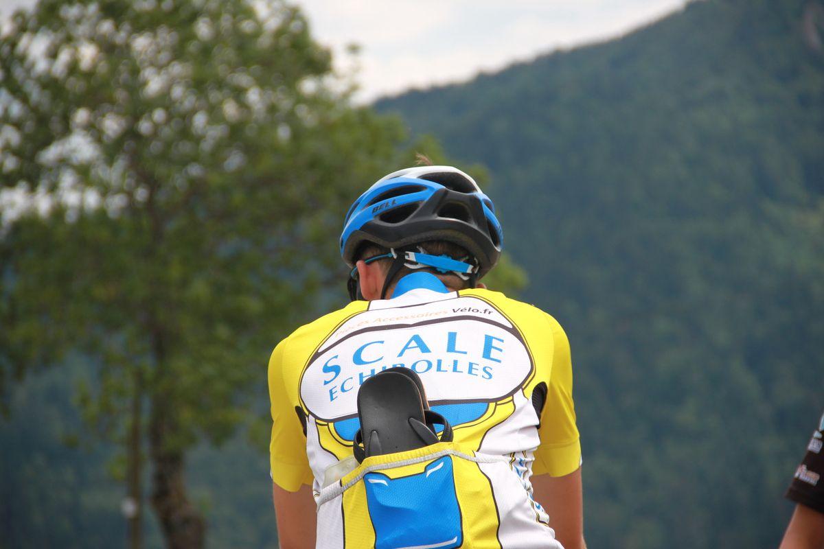 Stage vélo de juillet 2018.