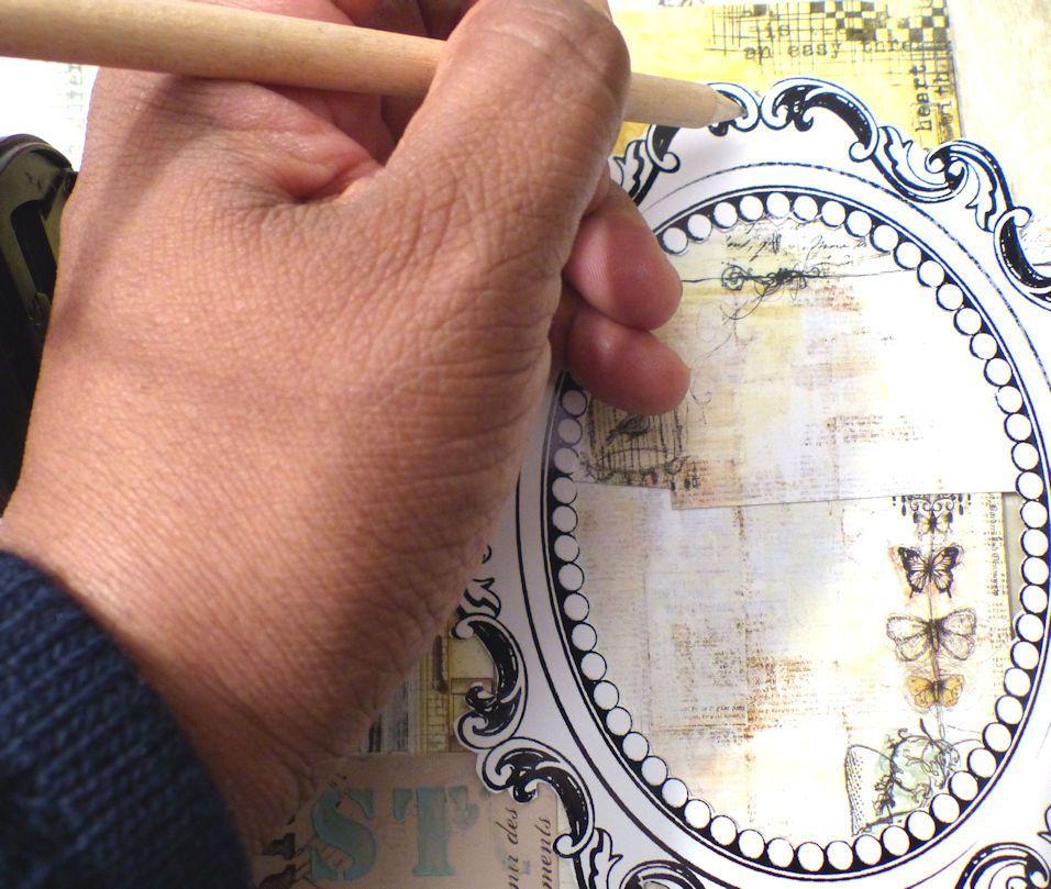 Petit tutoriel cadre (Paris flea)