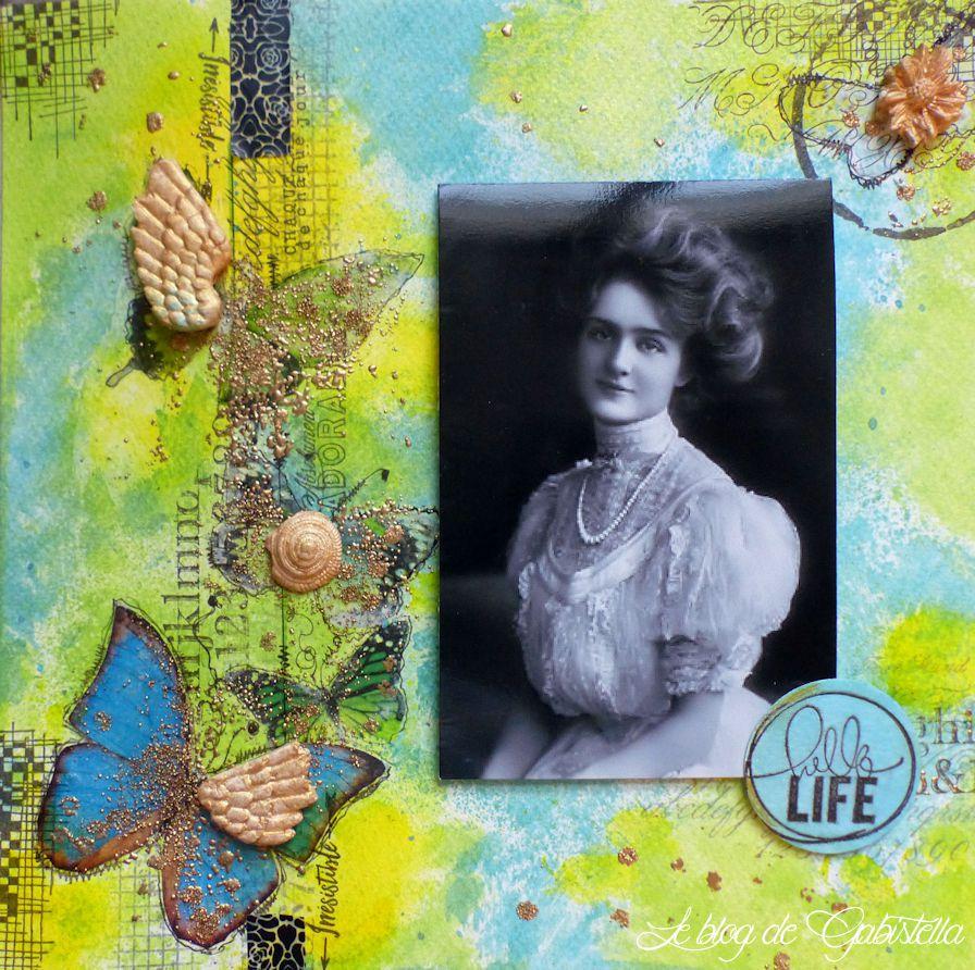 L'effet papillon : cartes pour la fête des mères