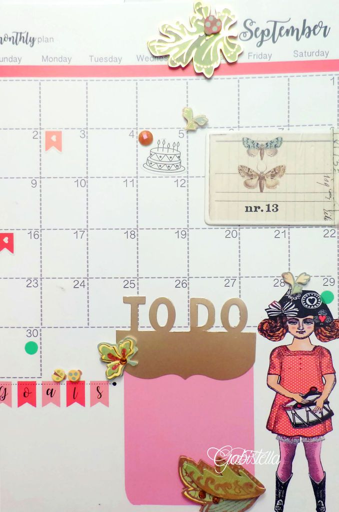 Customisation Calendrier Character Construction