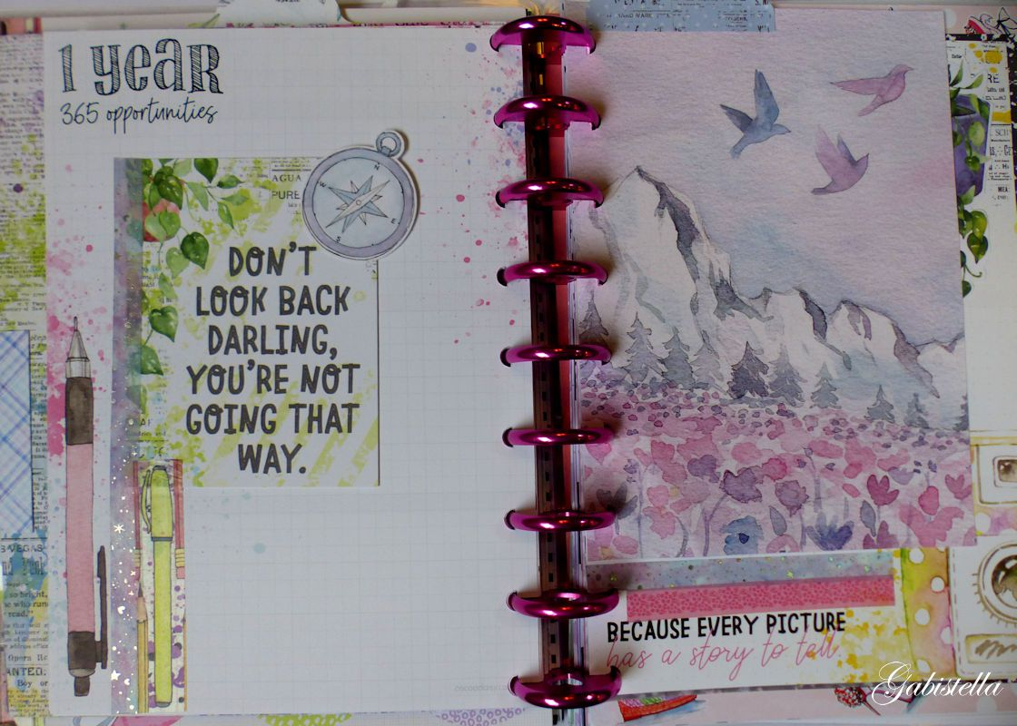 Happy planner Classic (dec 2019-janvier 2020)