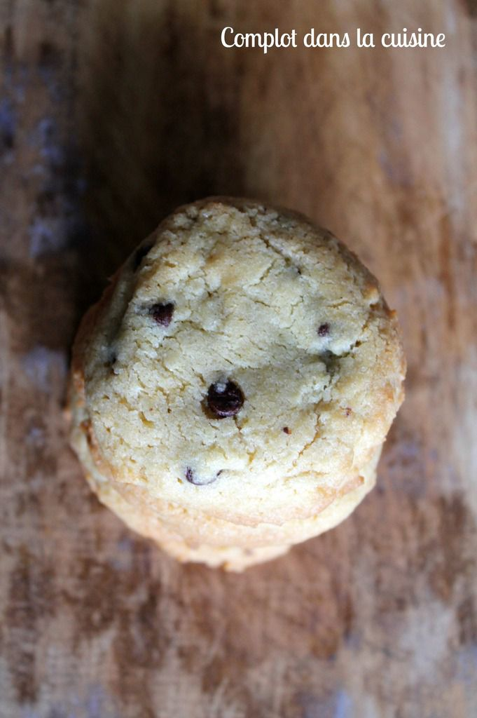 Aujourd'hui c'est cookies : Chocolat chip cookies