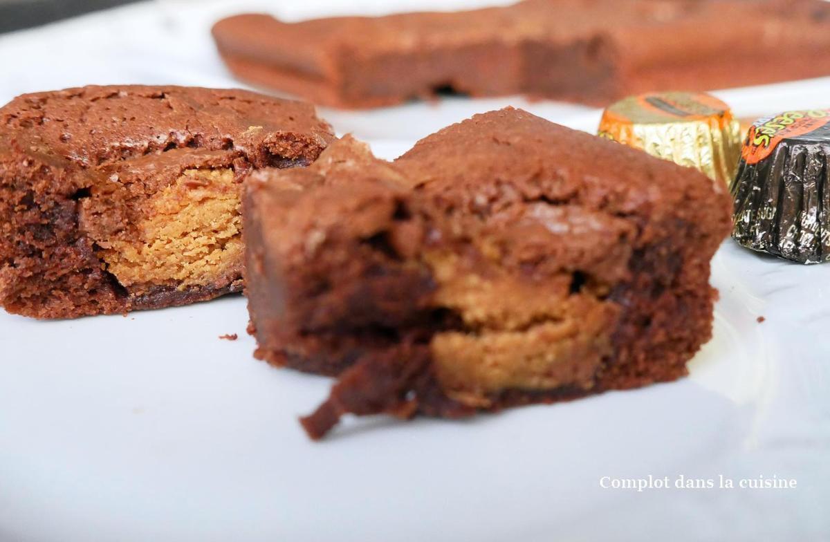 Brownie aux Reese's