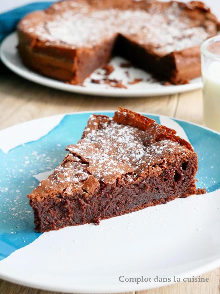 Gâteau craquant au chocolat / Comfort food