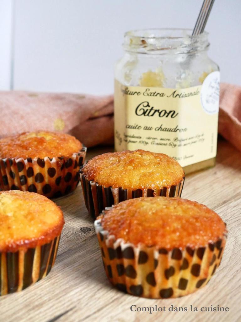 Muffins à la confiture de citron