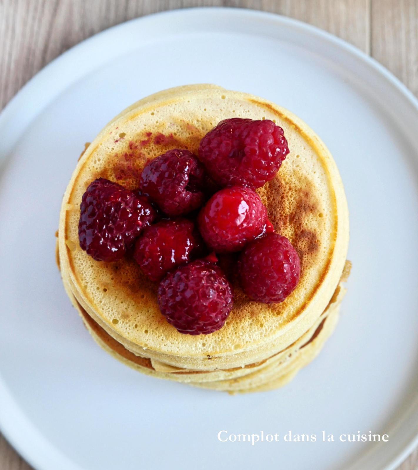 Fluffy pancakes – les pancakes japonais soufflés