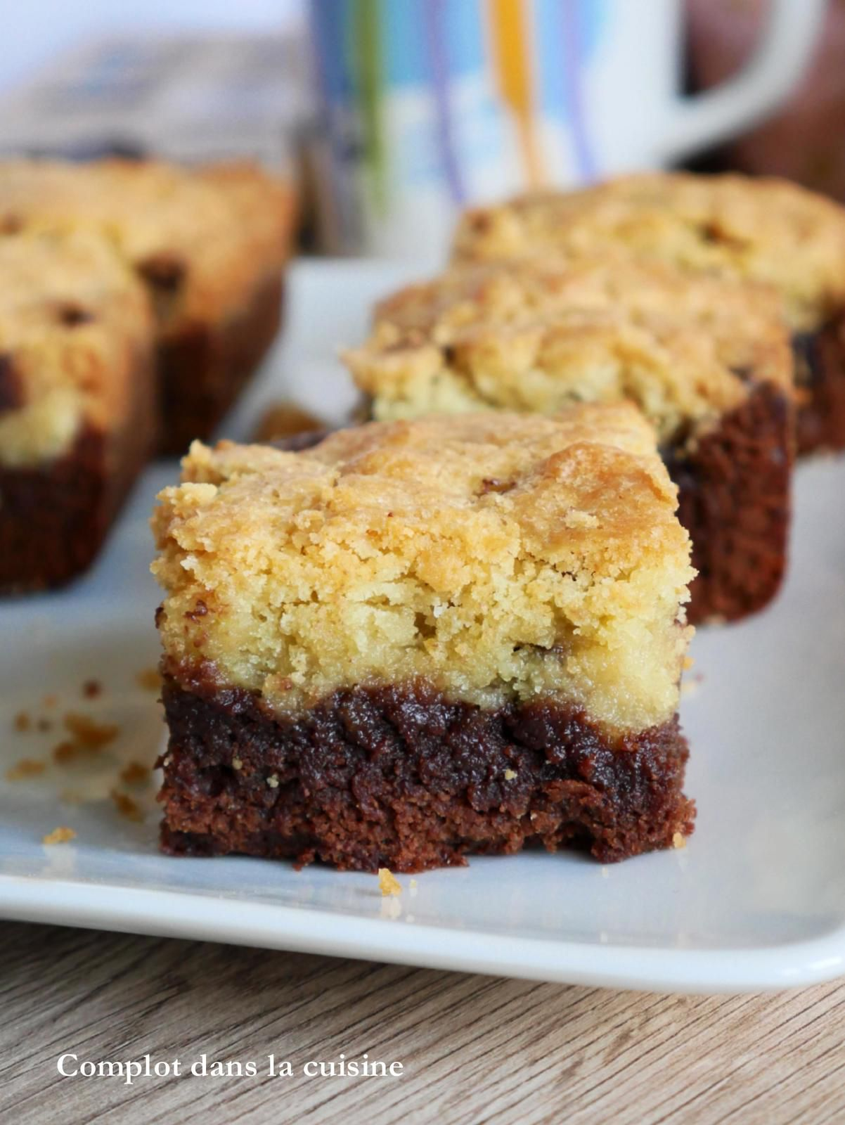 Brookies – Le mariage entre un brownie et un cookie