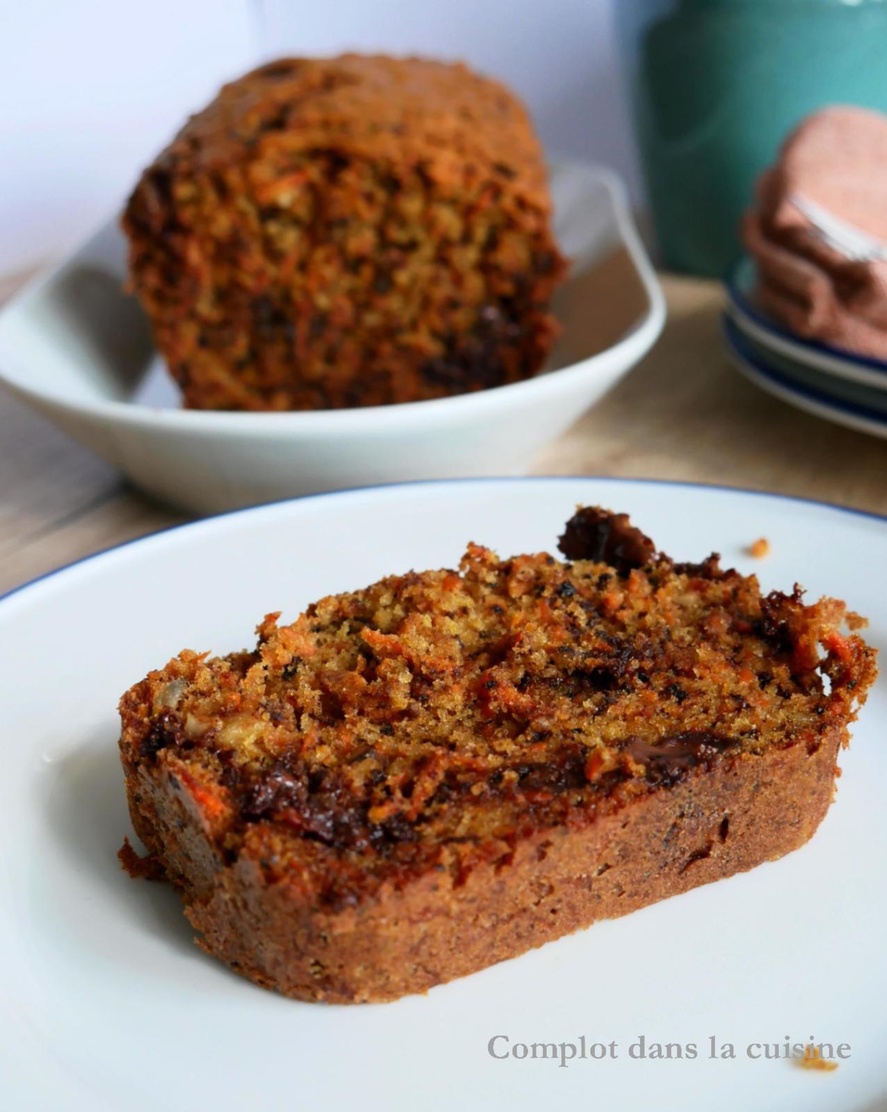 Carrot cake au chocolat - Addiction garantie