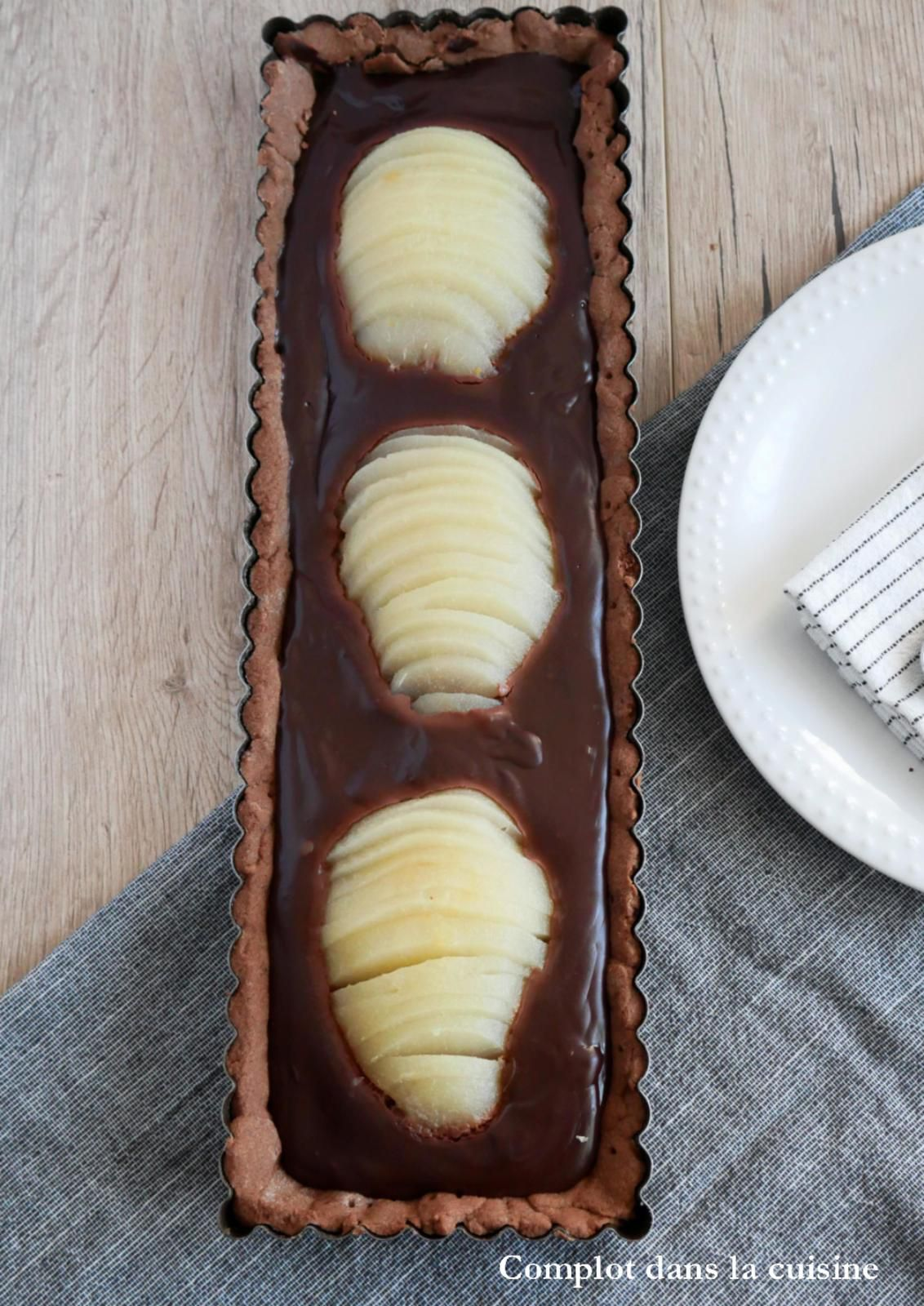 Tarte poires - chocolat – Simple et gourmand