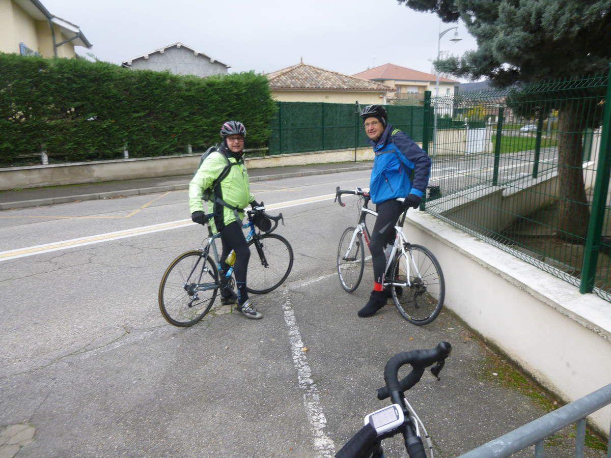 Pont Evêque(38) -- Promeneurs -- Lundi 28 Novembre