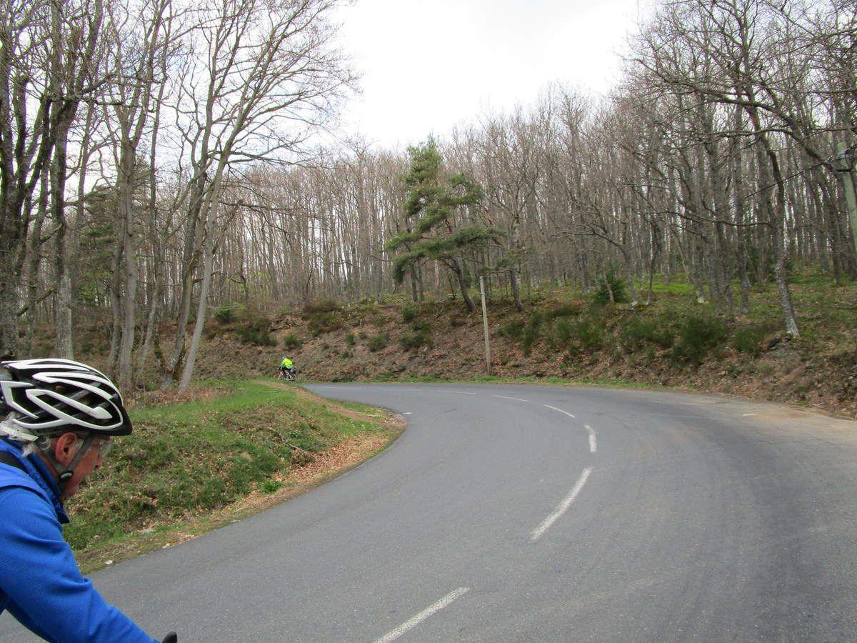 Danièle manque un peu de kilomètre en ce début de saison