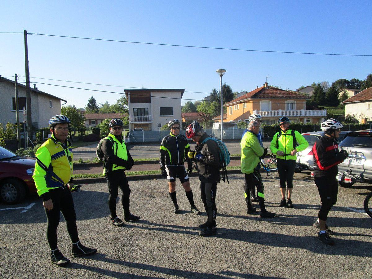 Pont Eveque (38)  Promeneurs 2  Vendredi 21 avril 2017