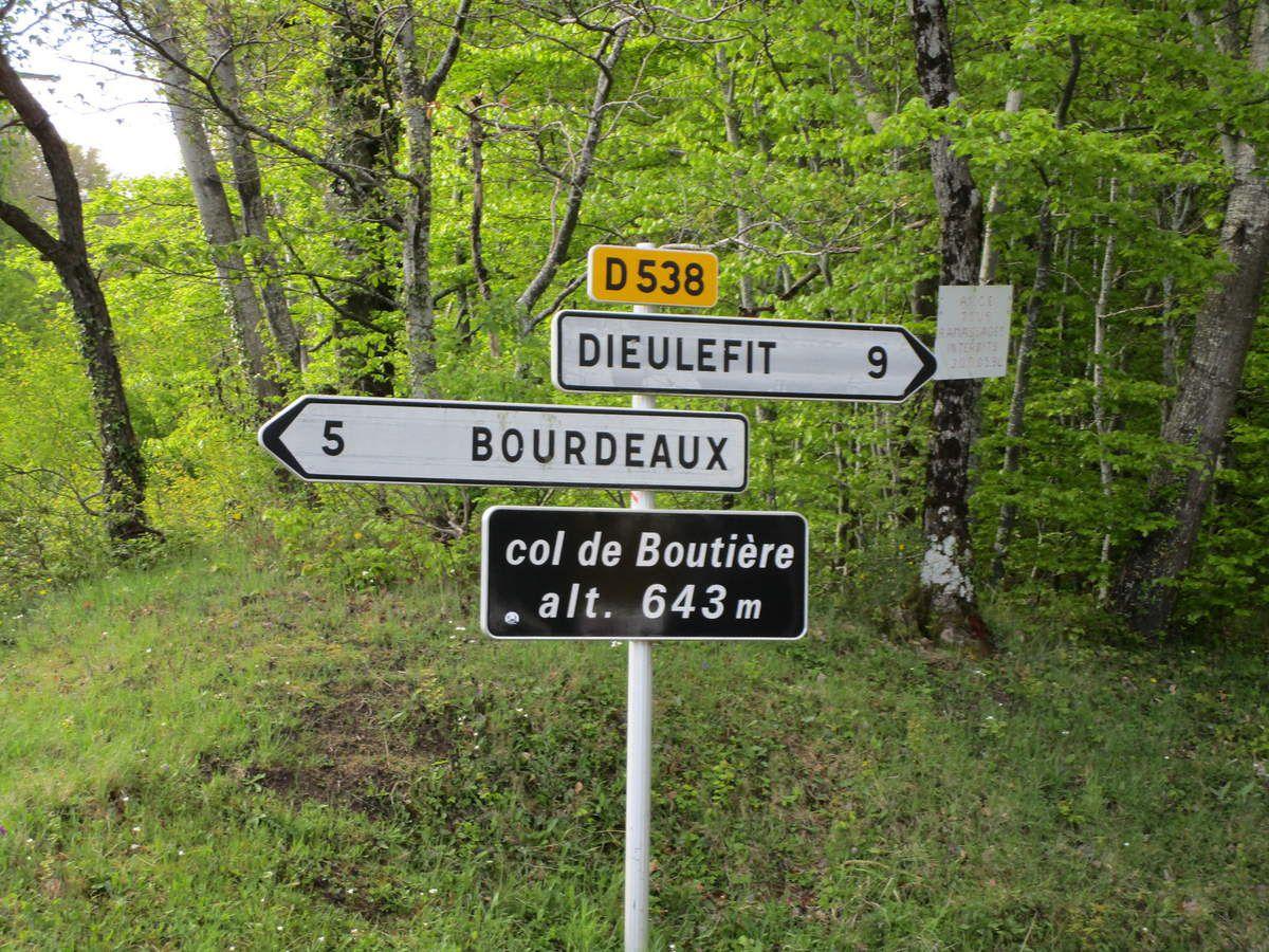 Bourdeaux(26) Jeudi 4 mai