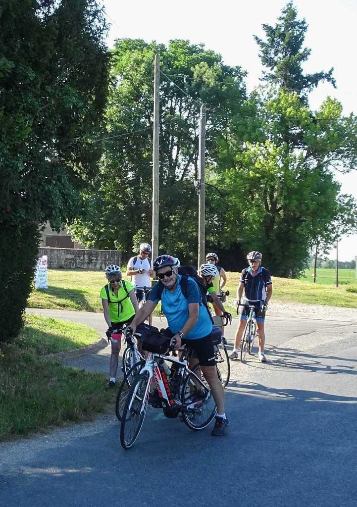 100km en  Découverte  Le Mas Rillier  20 juin 2017