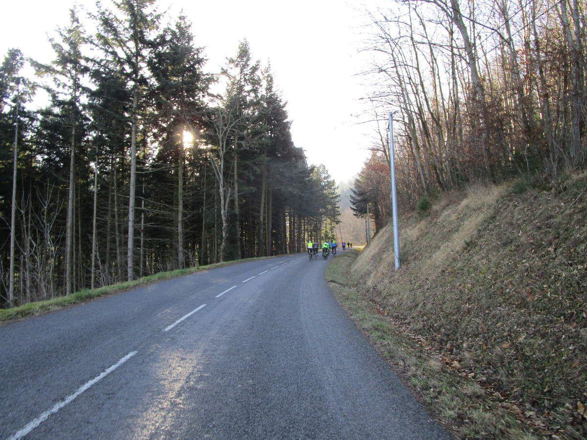 Rive de Gier  Randonneurs  et P2   Mercredi 24 Janvier