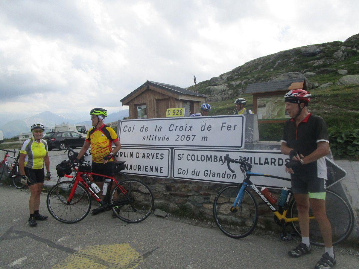 Cols Glandon (1924m) et Croix de Fer(2024m) ------ Mardi 3 juillet 2018